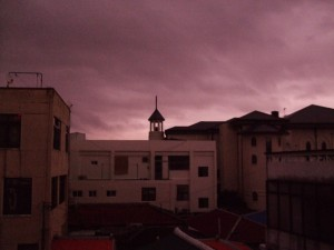 Taifuuni tulee