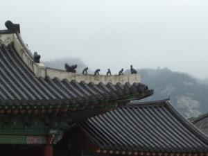 Gyeongbokgung, katto
